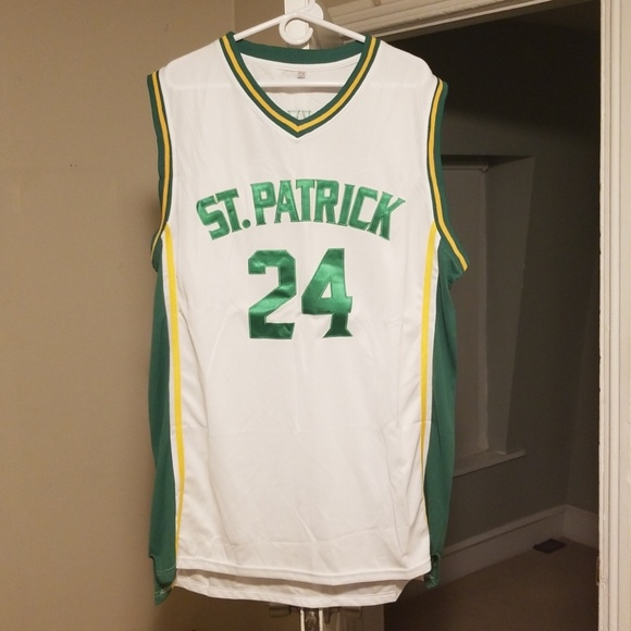 separation shoes 6c32a 1d2e2 Kyrie Irving St. Patricks High School Jersey